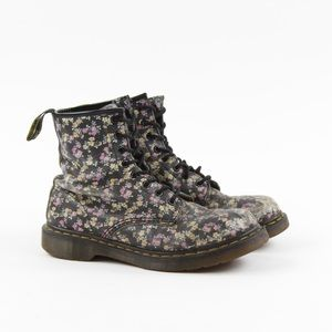Dr. Martens Victorian Floral 8-eyelet Combat Boots